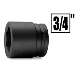 """Impact Sockets & Accessories, 3/4"""""""